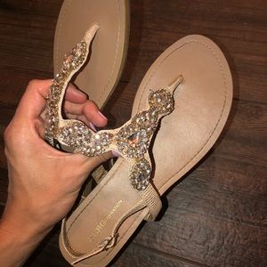 BCBGeneration diamond sandals